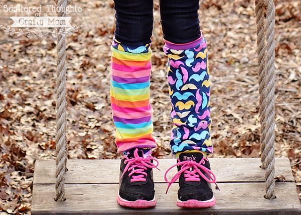 Tutorial: Crazy Socks leg warmers