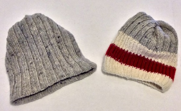 Tutorial: No-sew winter hat for a doll