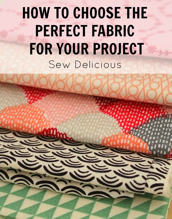Choosing a good mix of fabrics for your sewing project
