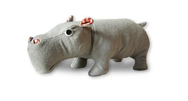 Free pattern: Hippopotamus softie