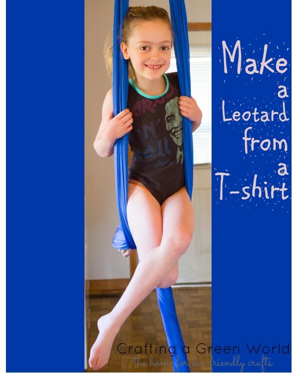 Tutorial: Make a child's leotard from a t-shirt