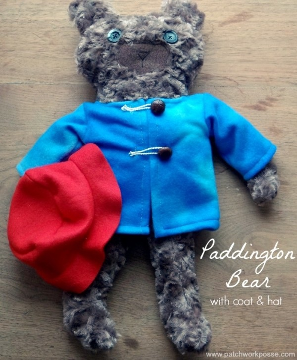Free Pattern Paddington Bear Softie With His Hat And