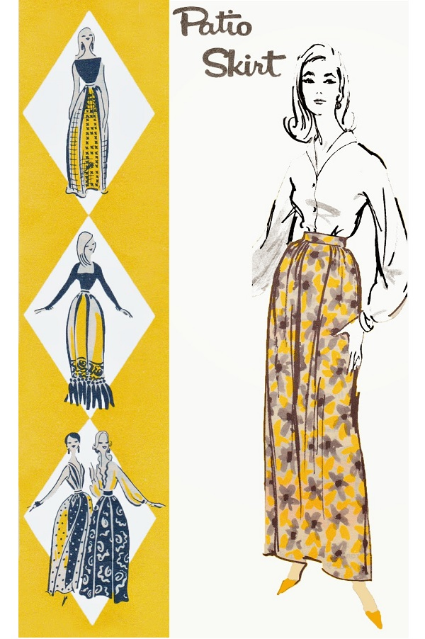 Free pattern: Vintage patio skirt