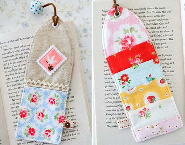 Tutorial: Scrapbusting pieced bookmarks