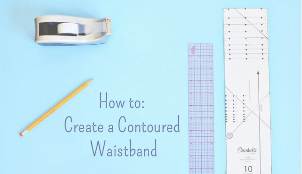 Tutorial: Create a contoured waistband
