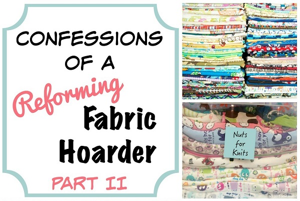 Advice from a reformed fabric hoarder