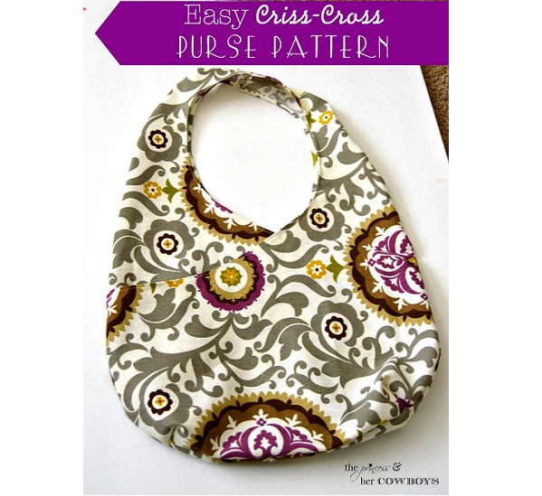 Tutorial: Easy criss-cross purse