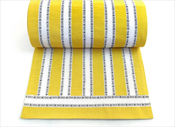 Tutorial: Decorative stitched and striped table runner