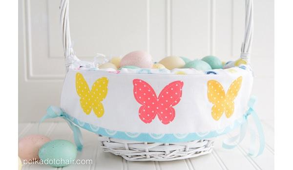 Tutorial: Easter basket liner