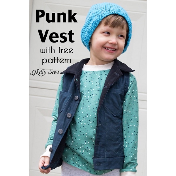 Free pattern: Punk Vest for boys