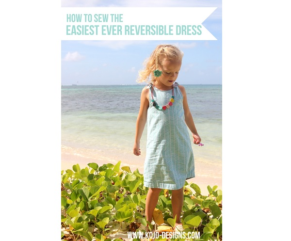 Tutorial: Little girl's simple reversible dress