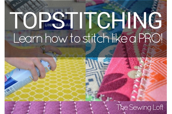 Tips for topstitching like a boss
