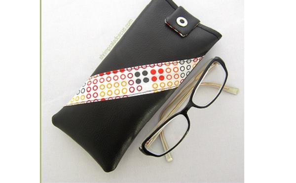 Tutorial: Vegan leather glasses case