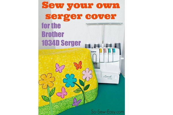 how to use brother serger 1034d