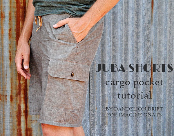 Tutorial: How to sew a cargo pocket