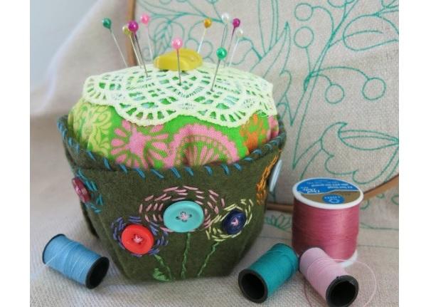 Tutorial: Cupcake pincushion
