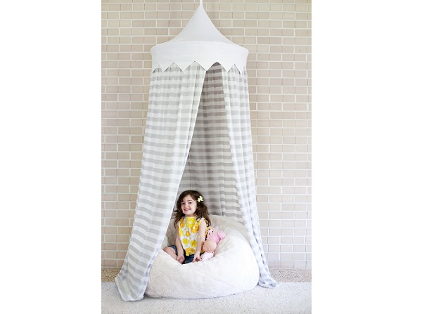 Tutorial: Hula hoop play tent