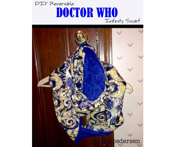 Tutorial: Doctor Who reversible infinity scarf