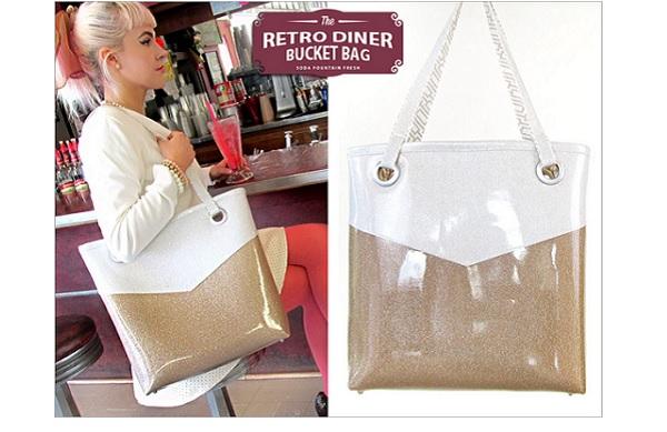 Tutorial: Retro Diner Bucket Bag