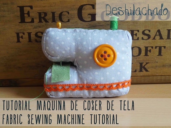 Free pattern: Sewing machine sewing machine