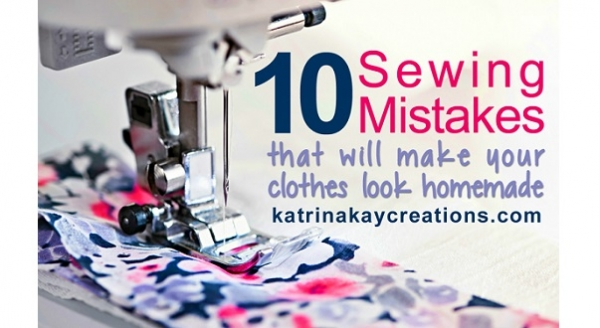 Are these sewing mistakes making your clothes look handmade?