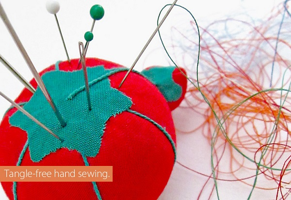 Tips for tangle-free hand sewing