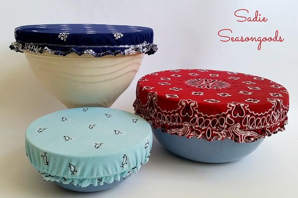 Tutorial: Vintage bandana bowl covers