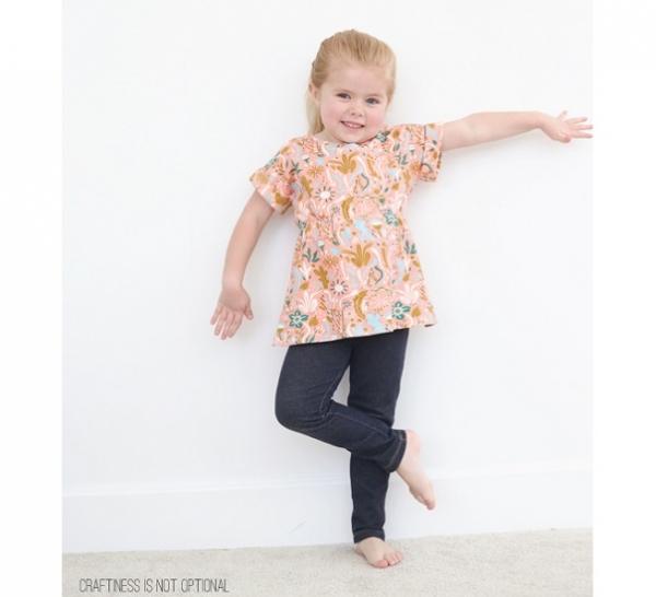 Free Pattern: Scrunch Top for little girls