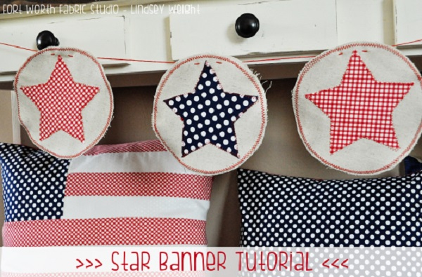 Tutorial: 4th of July star banner