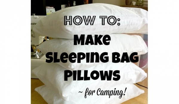 Tutorial: Sleeping bag or travel pillow