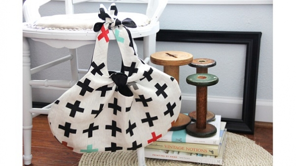 Free pattern: Knot Tote