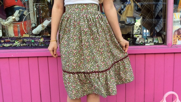 Tutorial: Two-tier prairie skirt