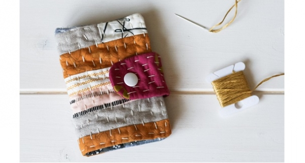 Tutorial: Kantha needle book