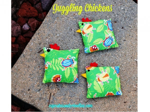 Tutorial: Chicken bean bags for juggling or other toss games