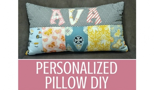 Tutorial: Personalized pieced name pillow