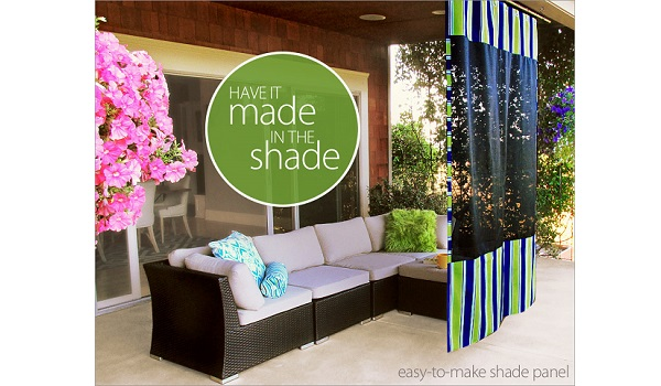 Tutorial: DIY shade screen for your porch or patio