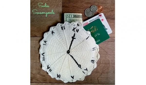 Tutorial: Vintage hot pad coin purse