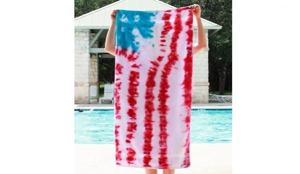 DIY-Tie-Dye-American-Flag-Towels-One-Little-Minute-12