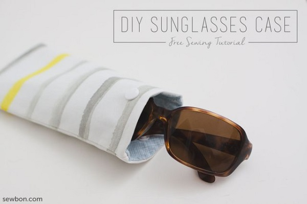 Tutorial:  Easy DIY sunglasses case