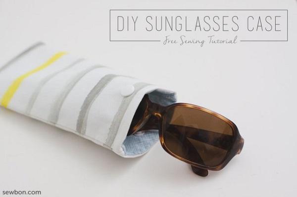 Tutorial:  Easy DIY sunglasses case