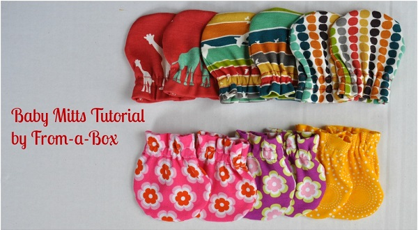 Free pattern: Baby mitts