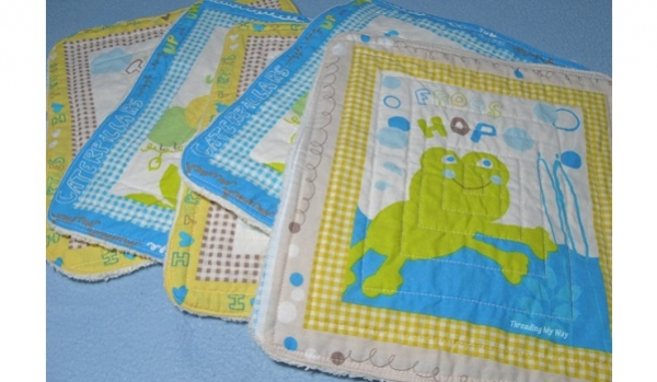 Tutorial: Baby wash cloths