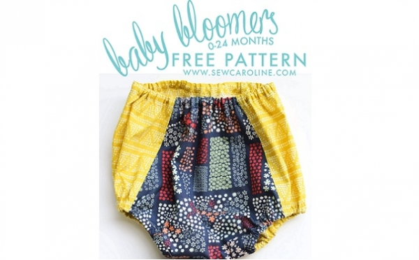 Free pattern: Baby bloomers