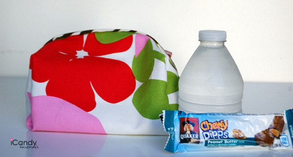 Tutorial: Back-to-School Snack Totes