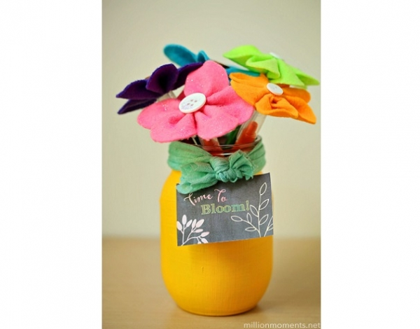 Tutorial: 10-minute teacher gift bouquet