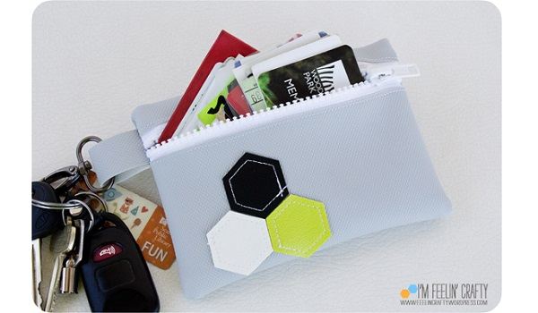 Tutorial: Little vinyl pouch wallet