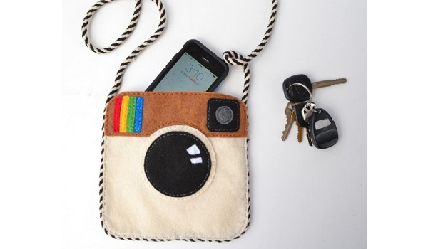 Tutorial: Instagram felt purse