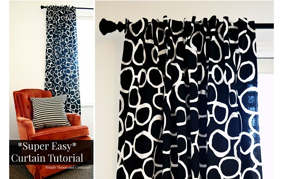 Tutorial: Super easy curtains in just 6 steps