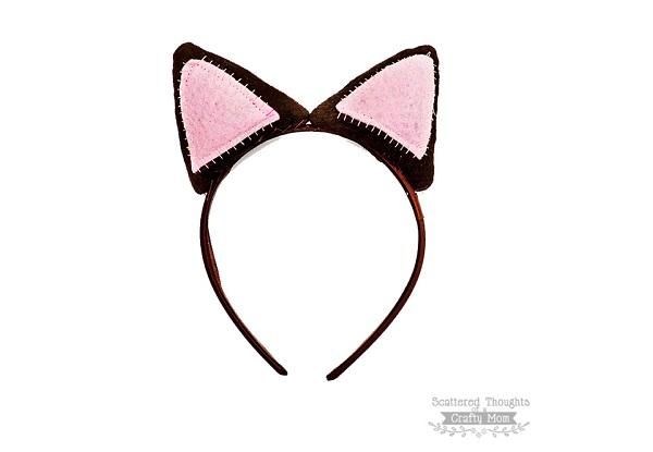 Tutorial: Cat ear headband
