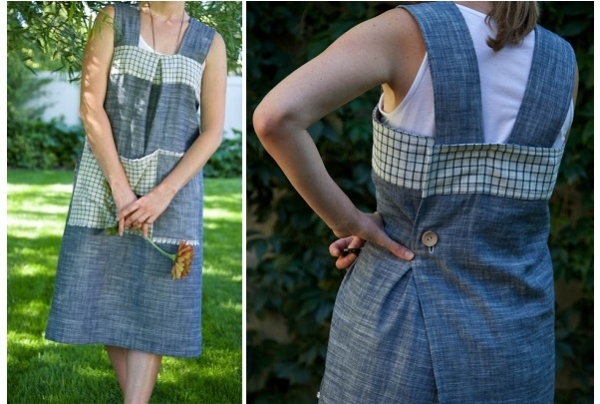 Tutorial: Garden frock apron